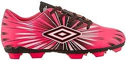 Umbro Kids Arturo 3.0 FG Soccer Cleats (Pink, 9K)