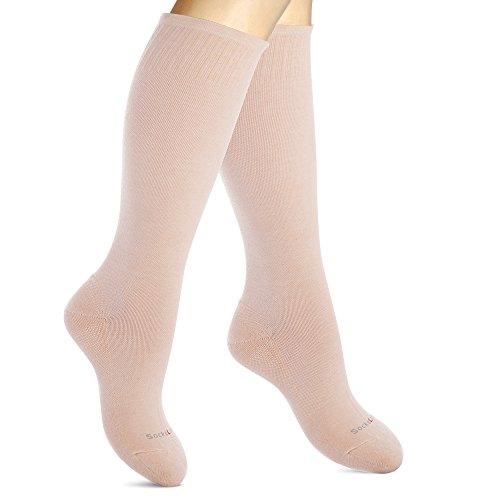 Medias Compresión Algodón Mujeres. Calcetines Elásticos
