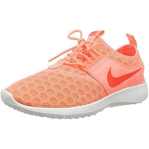 Nike Women's Zenji Training Running Shoes, Pink (600 ATOMIC PINK/BRIGHT CRIMSON), 5 UK by Nike