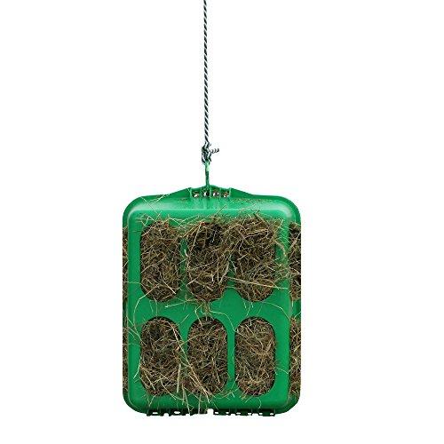 netproshop Stallbedarf Slow Feeder Kunststoff Heubox Grün 33x50x60 cm