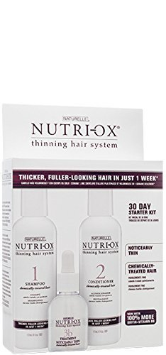 Nutri-Ox Starter Kit for Noticably Thin Hair Color Treated Hair by Nutri-Ox