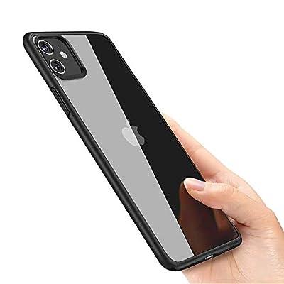 laxikoo Custodia iPhone 11, Cover iPhone 11 TPU Morbido Silicone iPhone 11 Bumper Cover [Anti-Graffio] [Antiurto] Custodia Trasparente Protettiva Case per iPhone 11-6.1 Pollici