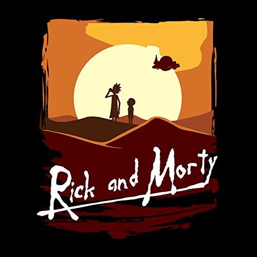 Rick And Morty Apocalypse Now Sunset Women's Sweatshirt Black