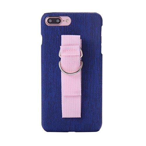 EKINHUI Case Cover IPhone 7 Fall-Abdeckung, spinnende Beschaffenheits-Muster-harte rückseitige Abdeckung des Plastiks mit Ring-Abzuglinie für Apple IPhone 7 ( Color : 4 , Size : IPhone 7 ) 4