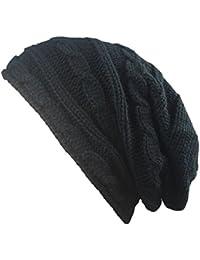 Gespout Autunno e Inverno Maglia Cappelli Tenere al Caldo Cappello Berretto Invernale  Caldo Cappello Caps per 3d5429b5160c