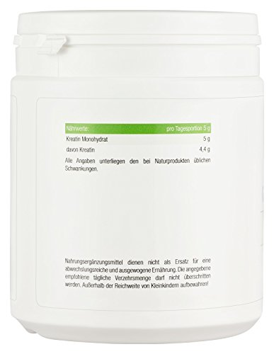 2gleer Creatin Monohydrat MAX Pure Intensiv