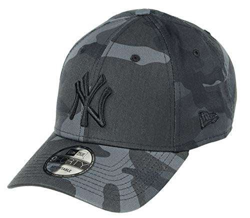 New Era League Essential 9Forty Adjustable Cap NY Yankees Grau Camouflage, Size:ONE Size New Era Cap Camouflage