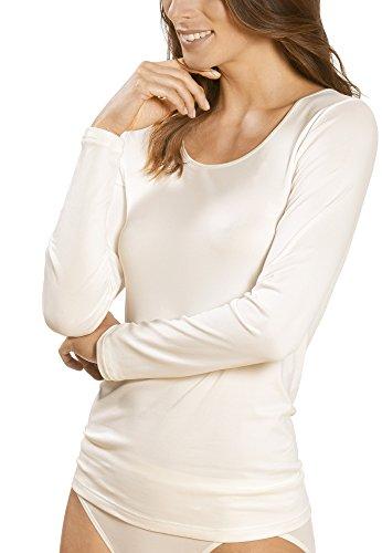 Mey Basics Serie Emotion Damen Shirts 1/1 Arm, Champagner, Gr.- 38