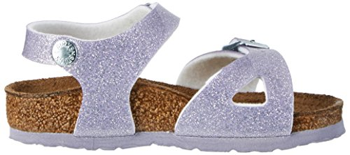 Birkenstock Rio, Bride cheville fille Violett (MAGIC Galaxy Lavender)