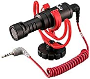 Rode 2724339778406 VIDEOMICRO microphone for Canon and Nikon etc. cameras