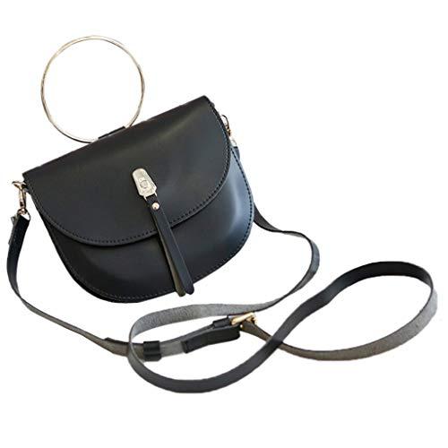 Morran Damen Handtasche Umhängetasche Messenger Bags Diagonale Cross-Body Farbe Satteltasche -