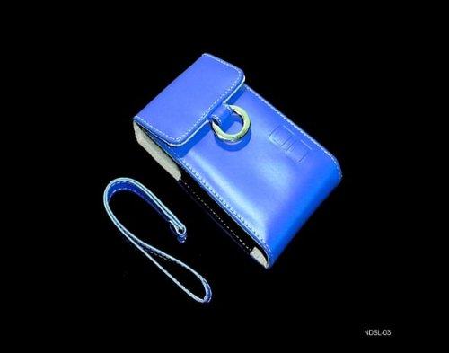 consoles-and-gadgets-nintendo-dsl-lite-dsi-blue-faux-leather-carry-case