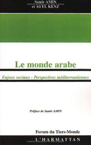 Le monde arabe : Enjeux sociaux, perspectives méditerranéennes