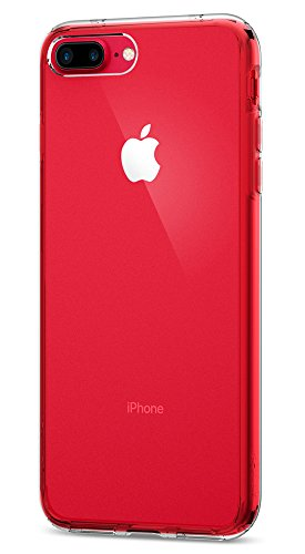 Funda iPhone 7 Plus, Spigen [Ultra Hybrid] Amortiguacion neumatica [Crystal Clear] Parte trasera transparente de policarbonato + TPU bumper, Funda Apple iPhone 7 Plus (043CS20547)
