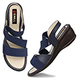 Denill Latest Collection, Comfortable & Stylish Wedges Sandals for Women's and Girl's