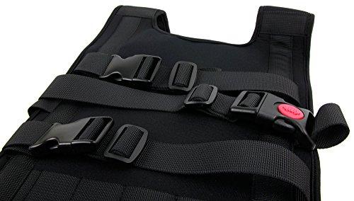 Robuster und widerstandsfähiger Rucksack (schwarz) der Marke DuraGadget für DJI Phantom 3 4K / DJI Phantom 3 Advanced / DJI Phantom 3 Professional und DJI Phantom 4 - 3