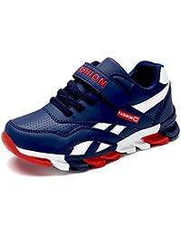 Yi Buy Baskets Mode Enfants Garçon Fille Chaussures de Sport Antidérapantes Chaussure de Course 29-39 EU