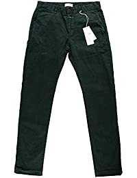 Closed Herren Clifton Slim Brushed Chino Deep Forest