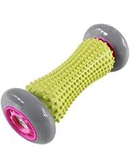 Muskel Massage Roller Stick fur Hand und Fuß,17 x 10cm Selbstmassage Werkzeug, Zuoao Trigger Point Stick Beweglicher Muskel Massage Stock fur eine sofortige Linderung der Beinkrämpfe