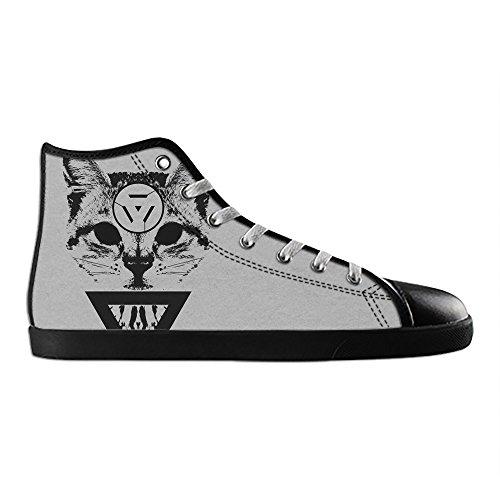 Dalliy kunst katze Men's Canvas shoes Schuhe Lace-up High-top Sneakers Segeltuchschuhe Leinwand-Schuh-Turnschuhe A