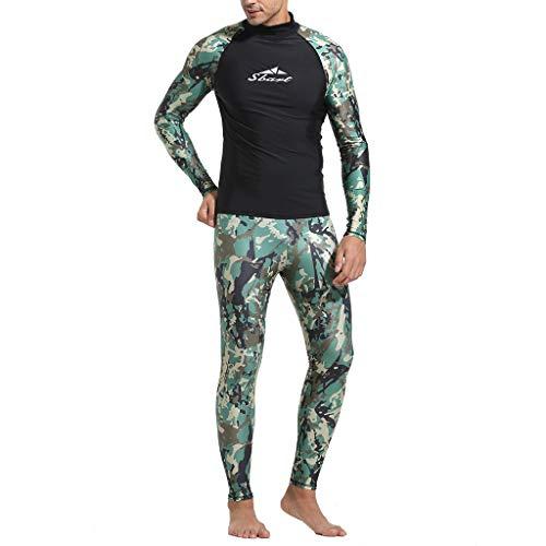 Costumi da bagno uomo slip,camicia da uomo di nuoto diving camo rashguard camicie da surf beach swim uv protection suit,costumi da bagno da gara da uomo