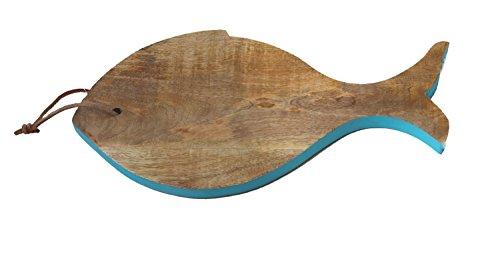 Preisvergleich Produktbild Mangoholz Brett Schneidebrett Fisch