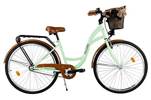 Zoom IMG-1 milord comfort bike con cesto