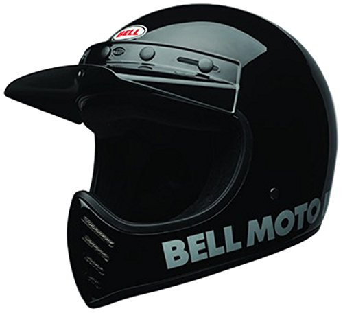 (Bell Helm Moto-3 Schwarz Gr. L)