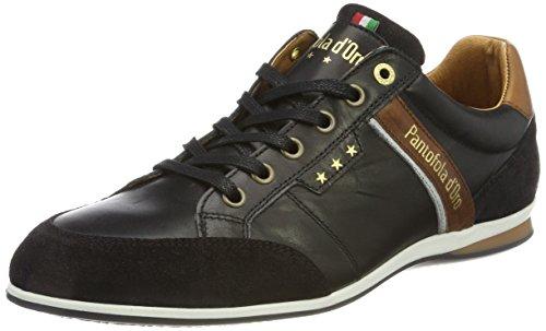 Pantofola dOro Roma Low, Sneaker Uomo nero (nero)