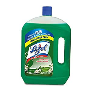 Lizol Disinfectant Surface Cleaner Jasmine, 2 L