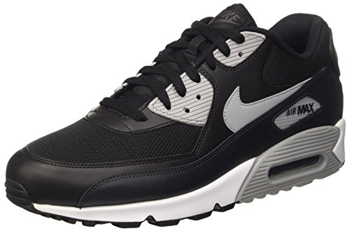 Nike - Air Max 90 Essential Trainers, Homme Noir (noir / Gris Loup-anthracite-blanc)
