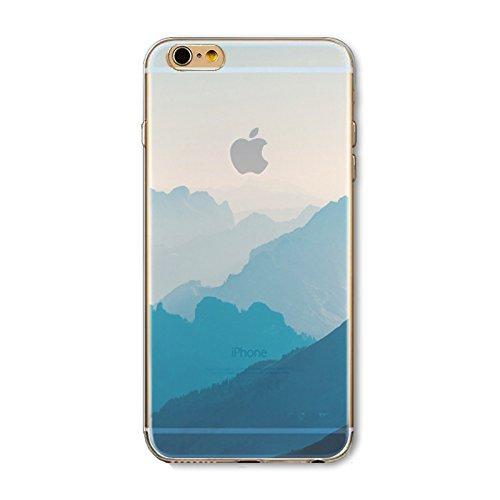 Coque iPhone 7 Housse étui-Case Transparent Liquid Crystal en TPU Silicone Clair,Protection Ultra Mince Premium,Coque Prime pour iPhone 7-Paysage-style 10 16