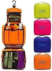 ShopAIS Multicolor Toiletry Bag
