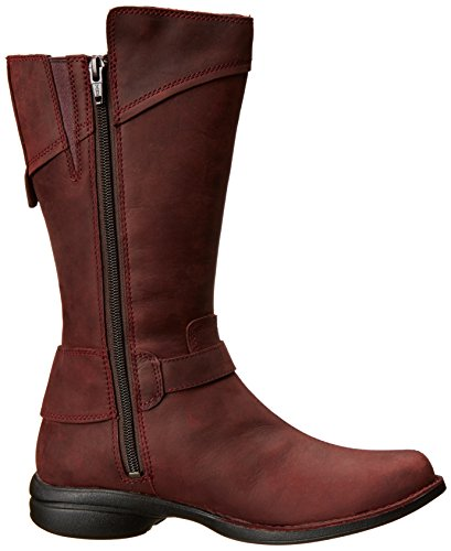 Merrell CAPTIVA BUCKLE-DOWN WTPF Damen Reitstiefel Rouge (Burgundy)