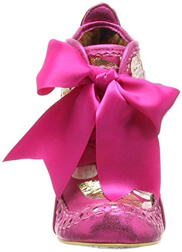 Irregular Choice Damen Abigail's Third Party Pumps, Rose Pink (Pink Multi)