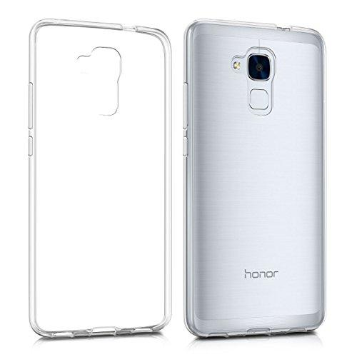 Huawei Honor 5C / Honor 7 Lite / GT3 Custodia , MENGGOOD TPU Custodia protettivo morbido Caso Trasparente Copertura Cristallo Protezione Silicio Cover per Huawei Honor 5C / Huawei Honor 7 Lite / Huawei GT3 - Antigraffio Bumper Fondello protettore completa