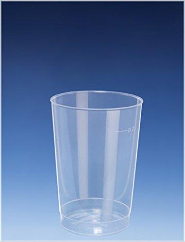 40 x 200 ml COCKTAIL Gobelet - Gobelet alt. à plus de Voie/Gobelets réutilisables Gobelet Cocktail Tasse