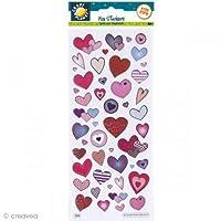 Fun Stickers - Love Hearts