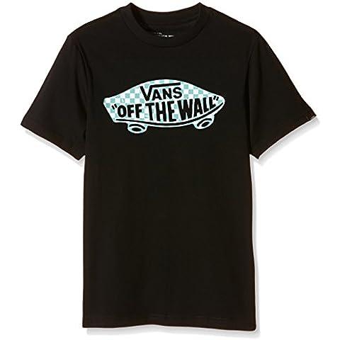 Vans OTW CHECKER FILL BOYS II - Camiseta Niños, Negro (black/canton/white), X-Large ( X-Large)