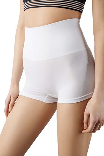 MD Shapewear Body Shaper Mädchen Slip Shaping Underwear Body Shape Unterwäsche Bianco