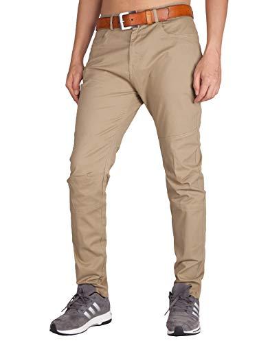 ITALY MORN Pantalones Chinos Hombre Skinny Largos