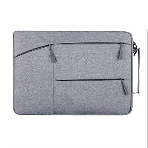LCUHW 12-15.6inch Laptoptaschen-Tasche für MacBook/Surface/iPad Pro Die Meisten Ultrabook-Notebooks,Gray,13.3-inch 13,3-zoll-ultrabooks Notebook