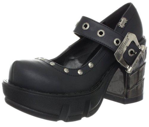 ry Janes Sinister-59 mattschwarz Gr. 39 (Billig Pleaser Schuhe)