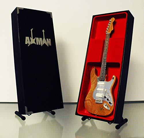 Axman Eddie Clarke (Motörhead): Fender Stratocaster-Gitarre Miniatur-Nachbildung (UK Verkäufer) (Motorhead Miniatures)