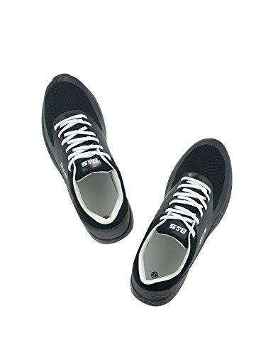Bitter & Sweet Men's Men's Black Low Cut Sneakers Black