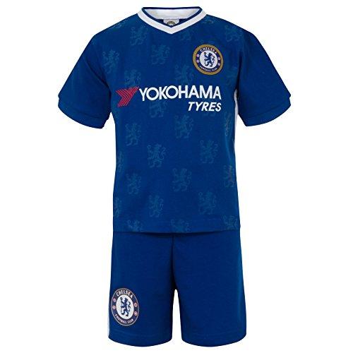 Chelsea F.C. Chelsea FC Official Football Gift Boys Kids Kit Pyjamas Royal Blue 6-7 Years