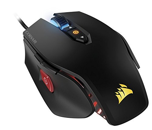 Corsair Gaming CH-9300011-EU M65 PRO RGB Mouse Gaming Ottico, 12000 DPI, Nero