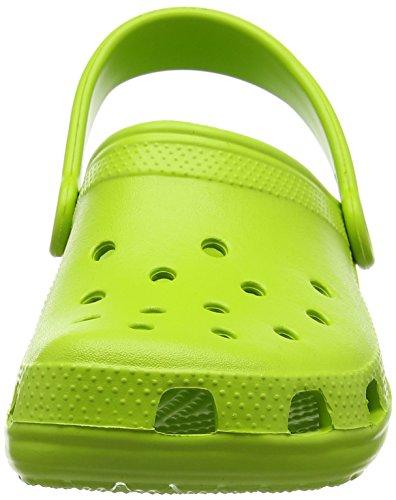 Crocs - Kids Classic, Zoccoli Unisex - Bambini Verde pastello