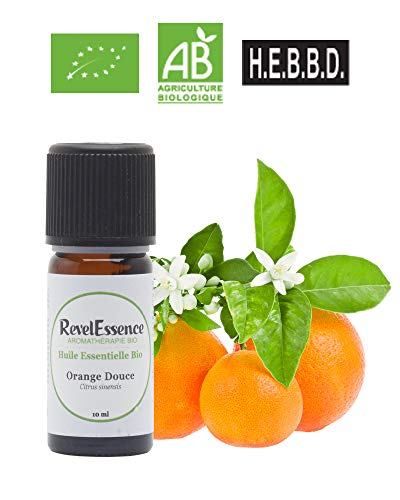 Huile Essentielle d'Orange Douce Bio Revelessence (10 ml)