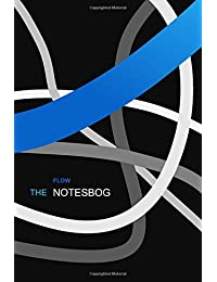 "notesbog - 6""x9"", flow edition, blue, dark, cornell blanco, 142p, (ca. DIN A5): Softcover Notizbuch, DIN A5, flow edition"